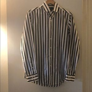 Polo Ralph Lauren black and white shirt